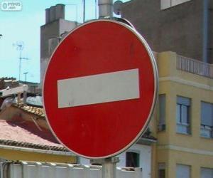 Puzle No entry