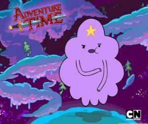 Puzle Nodulární prostoru princezna, shluk s hvězdou na čele. Lumpy Space Princess