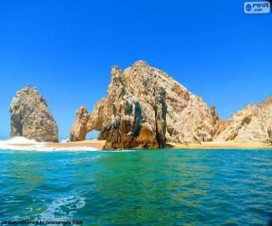 Puzle Oblouk v Cabo San Lucas, Mexiko
