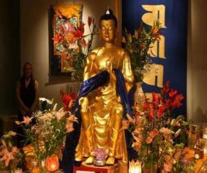 Puzle Obraz Buddhy