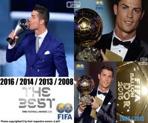 Puzle Ocenění hráč FIFA 2016