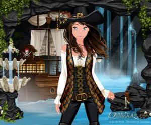 Puzle Oh moje Dollz pirátů