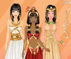 Puzle Oh My Dollz egyptský