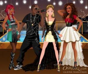 Puzle Oh My Dollzz hudební skupina