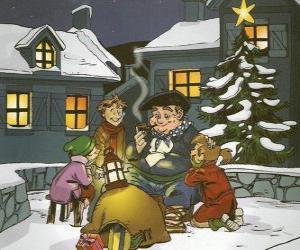 Puzle Olentzero je postava, která přinese dárky na Štědrý den v Baskicku a Navarra