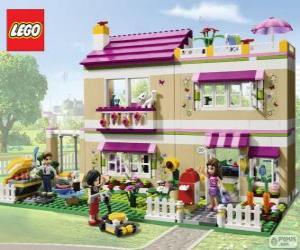 Puzle Olivia dům, Lego Friends