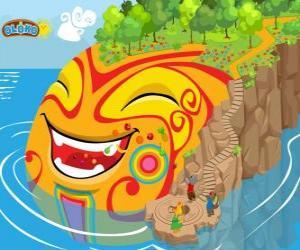 Puzle Oloko. Vytvořte si svůj svět s online strategická hra pro chytré děti