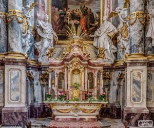Puzle Oltář kostela