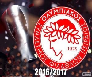 Puzle Olympiacos FC šampion 2016-2017