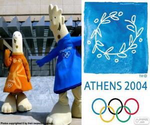 Puzle Olympijské hry Atény 2004
