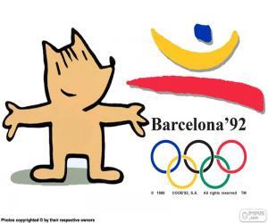 Puzle Olympijské hry Barcelona 1992