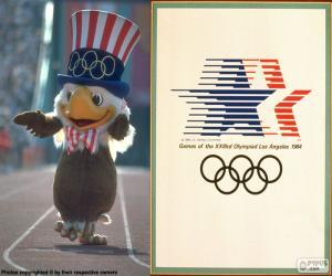 Puzle Olympijské hry Los Angeles 1984