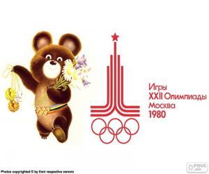 Puzle Olympijské hry Moskva 1980