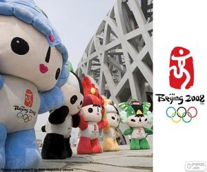 Puzle Olympijské hry Peking 2008