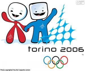 Puzle Olympijské hry Turín 2006