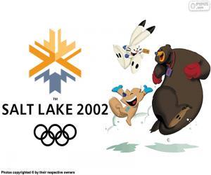 Puzle Olympijských her v Salt Lake City 2002