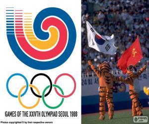 Puzle Olympijských her v Soulu 1988