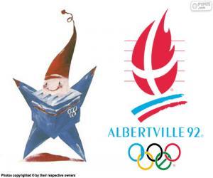 Puzle Olympijských hrách v Albertville roku 1992