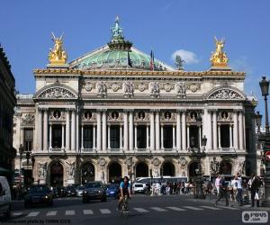 Puzle Opéra Garnier, fasáda