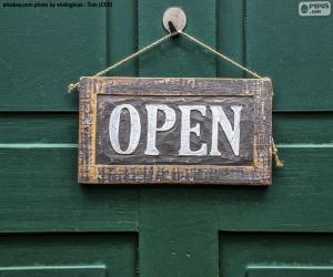 Puzle Open, Otevřené