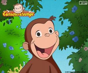 Puzle Opice George