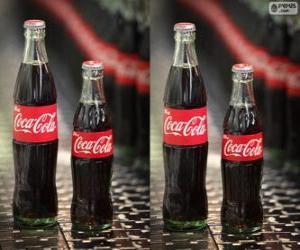 Puzle Originální lahví Coca Cola