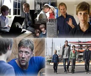 Puzle Oscar 2011 - Nejlepší cizojazyčný film: Susan Bier - v lepším světě - (Dánsko) 1