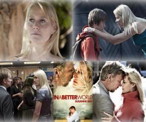 Puzle Oscar 2011 - Nejlepší cizojazyčný film: Susan Bier - v lepším světě - (Dánsko)