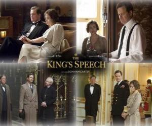 Puzle Oscar 2011 - Nejlepší film: Králova řeč (2)