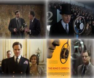 Puzle Oscar 2011 - Nejlepší film: Králova řeč (1)