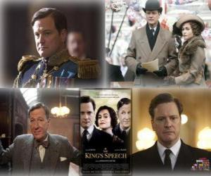 Puzle Oscar 2011 - Nejlepší film: Králova řeč