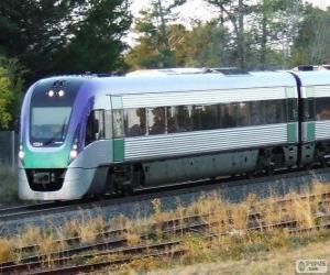 Puzle Osobní vlak VLocity, Austrálie