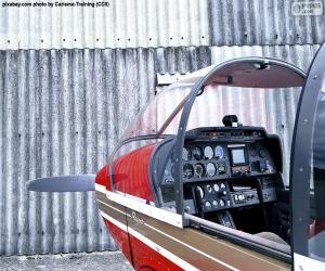 Puzle Ovládací prvky lehkých letadel