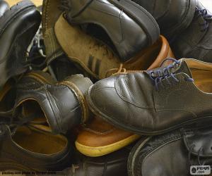 Puzle Pánská obuv