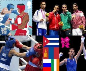 Puzle Pánské flyweight boxu Londýn 2012