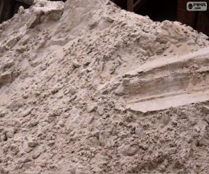 Puzle Písek pro stavební