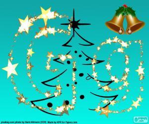 Puzle Písmeno G Vánoční dopis