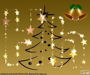 Puzle Písmeno H, Vánoce