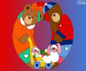 Puzle Písmeno O medvědů
