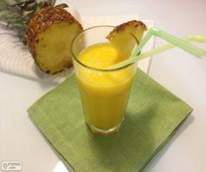 Puzle Přírodní Ananasová šťáva