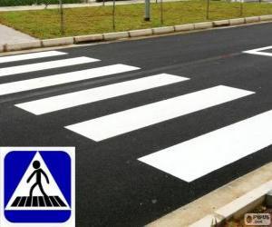 Puzle Přechod pro chodce