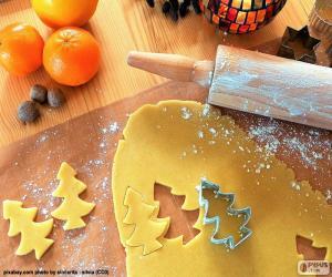 Puzle Připravit soubor cookie Vánoce