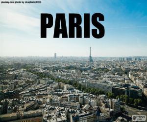 Puzle Paříž
