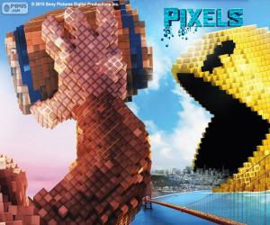 Puzle Pac-Man a Donkey Kong
