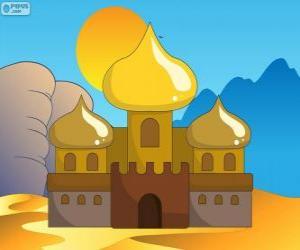 Puzle Palác Aladdin a princezna