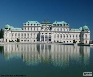 Puzle Palác Belvedere, Rakousko