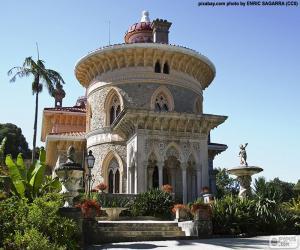 Puzle Palác Monserrate, Portugalsko