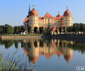 Puzle Palác Moritzburg, Německo