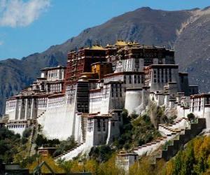 Puzle Palác Potala, Tibet, Čína