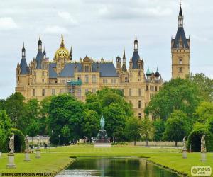 Puzle Palác Schwerin, Německo